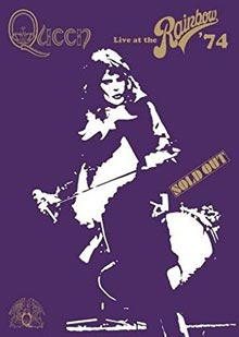 Live At The Rainbow '74 [DVD] Queen, grpe voc. et instr.